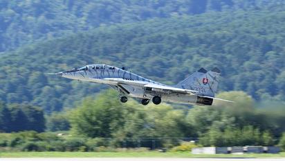 1303 - Slovakia -  Air Force Mikoyan-Gurevich MiG-29UBS