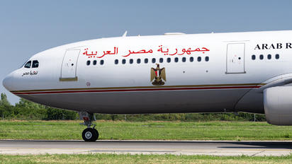 SU-GGG - Egypt - Government Airbus A340-200