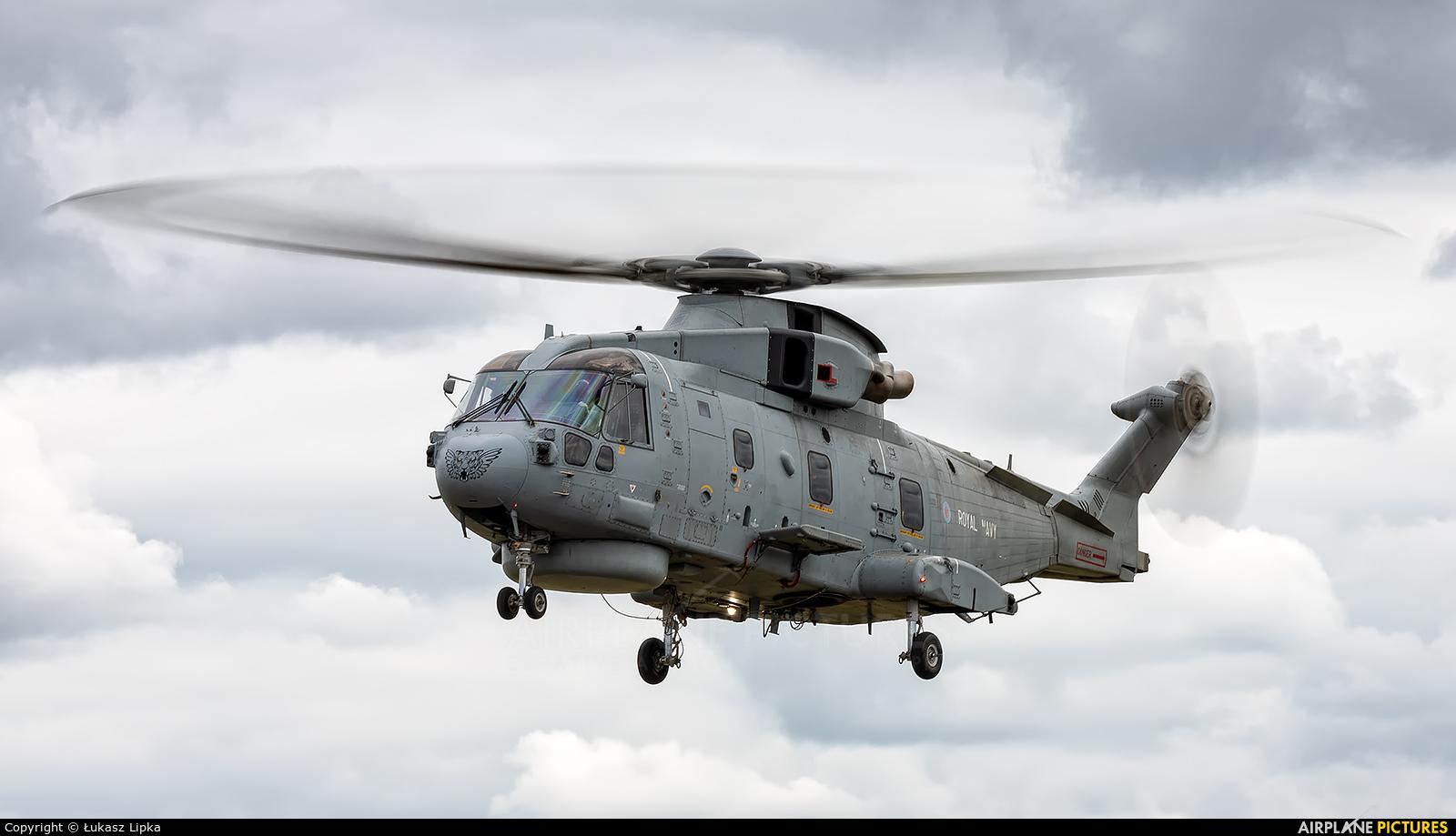 Royal Navy ZH857 aircraft at Yeovilton