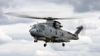 ZH857 - Royal Navy Agusta Westland AW101 111 Merlin HM.2