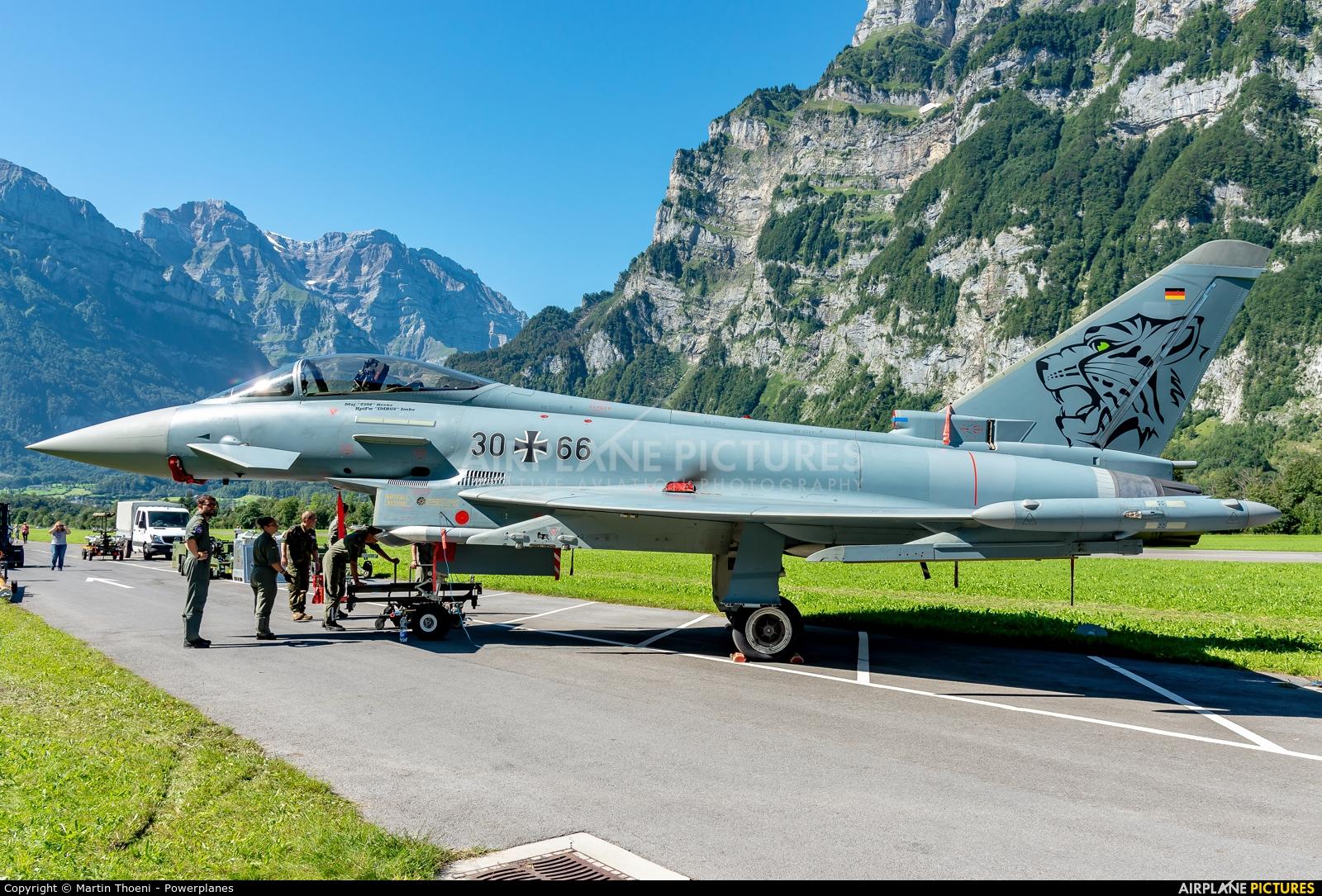 Germany - Air Force 30+66 aircraft at Mollis