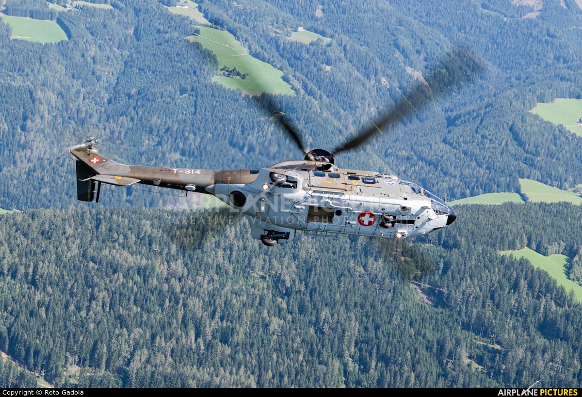 Switzerland - Air Force T-314 aircraft at In Flight - Austria