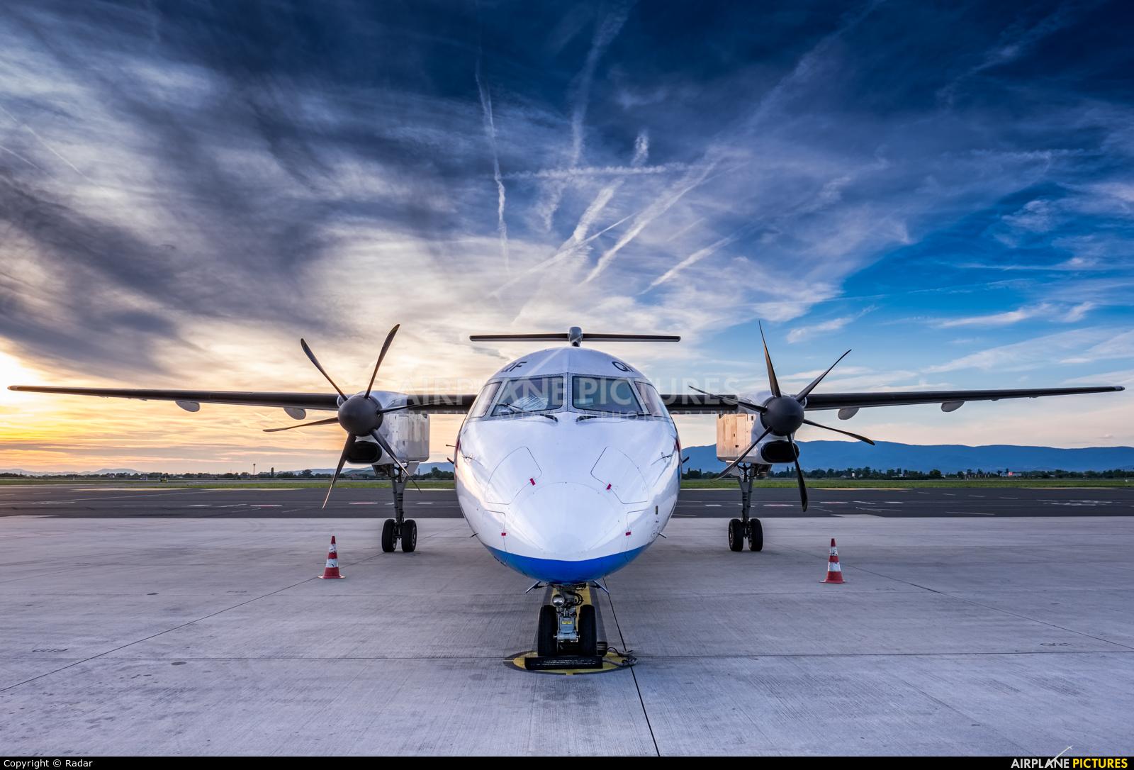Croatia Airlines 9A-CQF aircraft at Zagreb