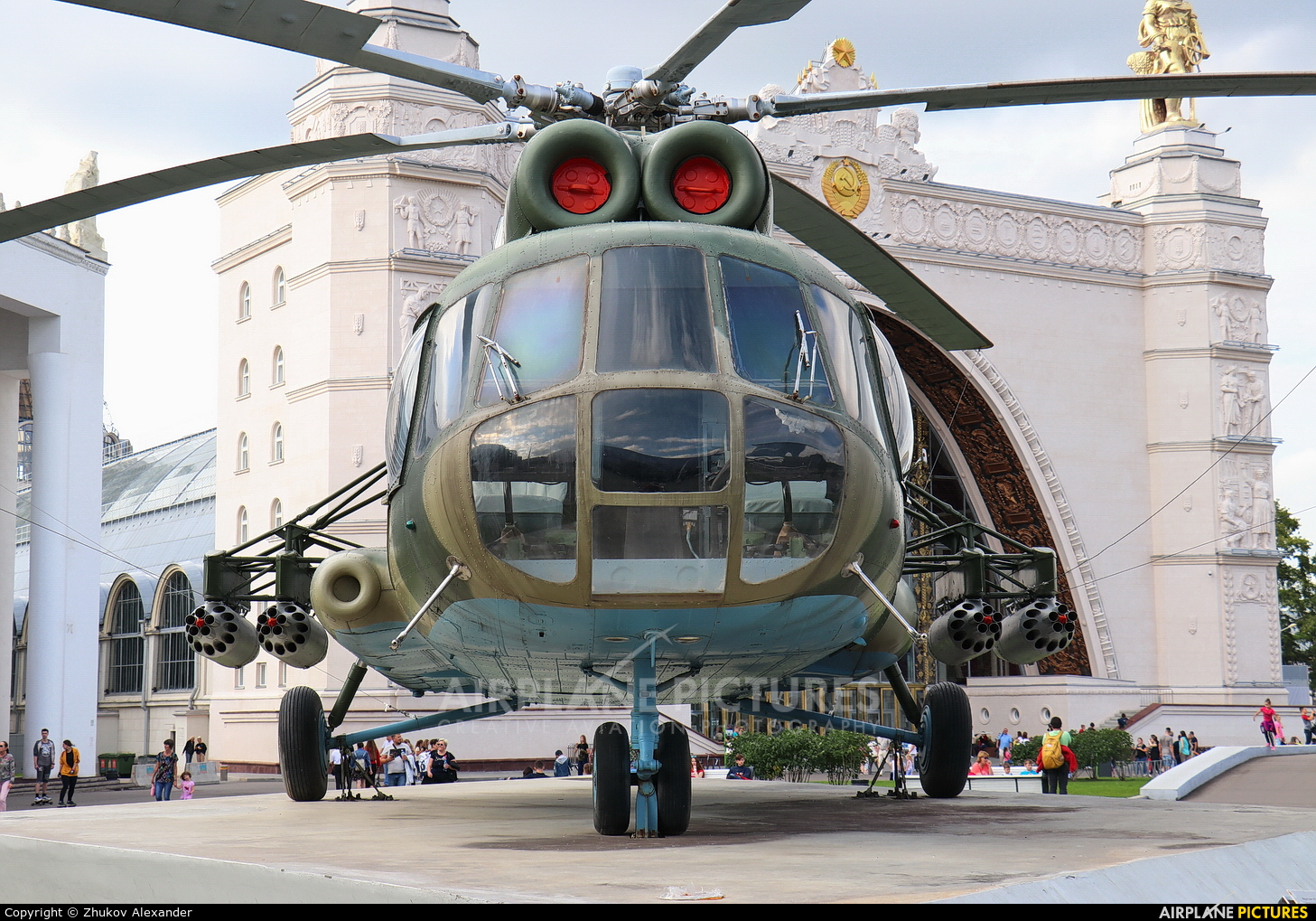 Russia - Air Force 70 aircraft at Moscow - Bykovo