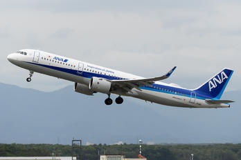 JA141A - ANA - All Nippon Airways Airbus A321