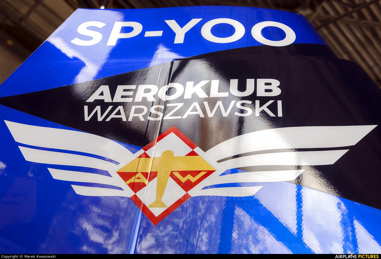 Maciej Pospieszyński - Aerobatics SP-YOO aircraft at Warsaw - Babice