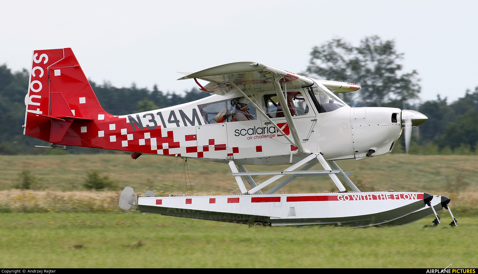 Private N314M aircraft at Kętrzyn - Wilamowo