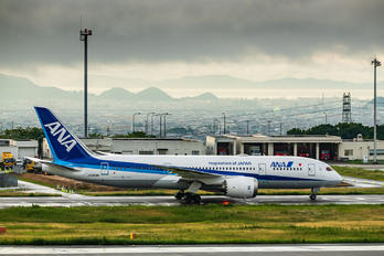 JA809A - ANA - All Nippon Airways - Airport Overview - Apron