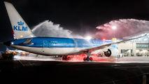 Inaugural flight of KLM to San Jose - Juan Santamaria title=