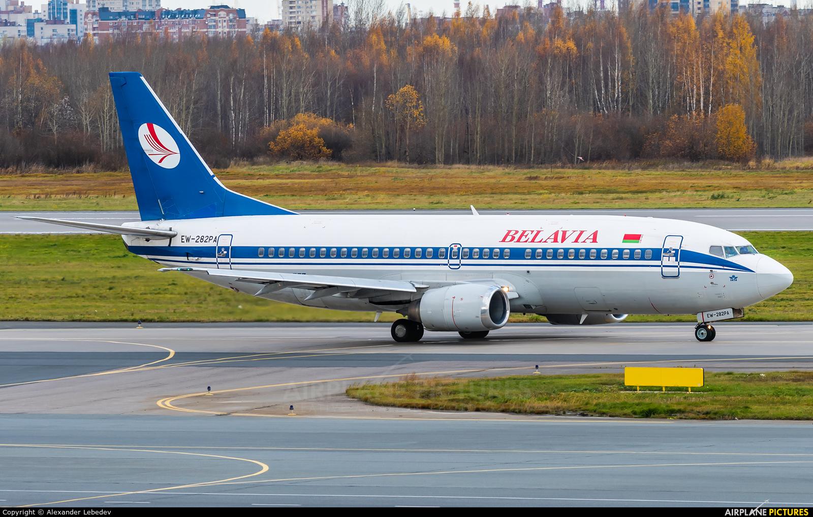 Belavia EW-282PA aircraft at St. Petersburg - Pulkovo