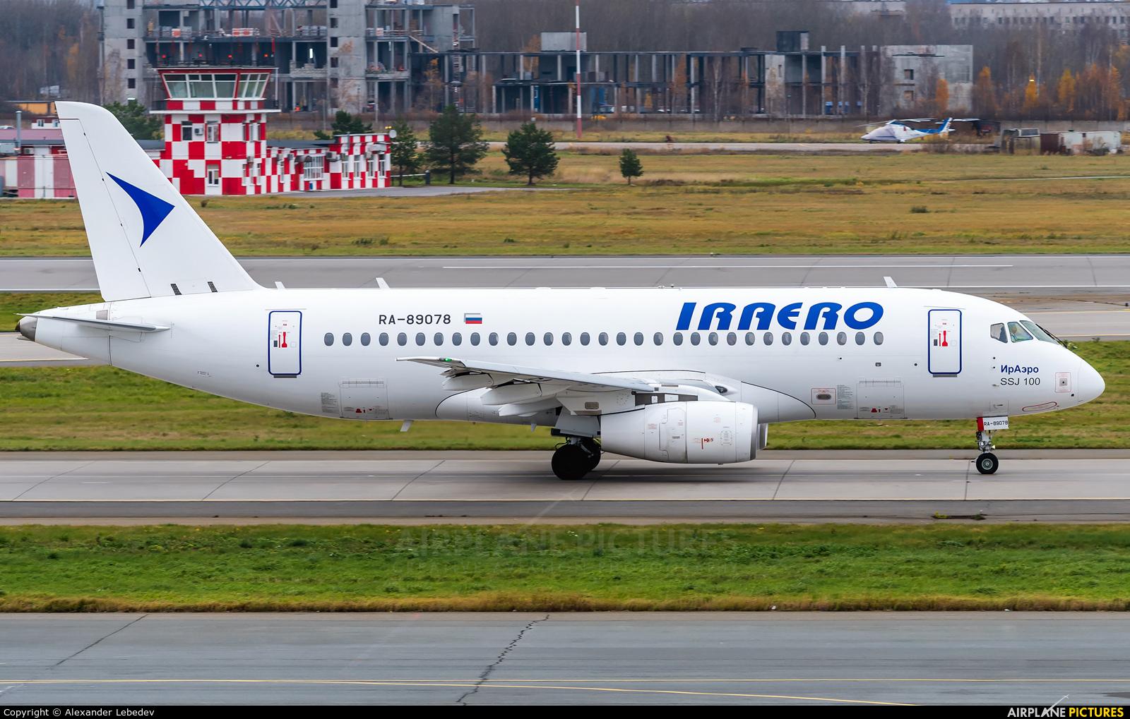Iraero RA-89078 aircraft at St. Petersburg - Pulkovo