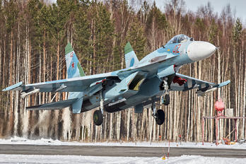 - - Russia - Air Force Sukhoi Su-27