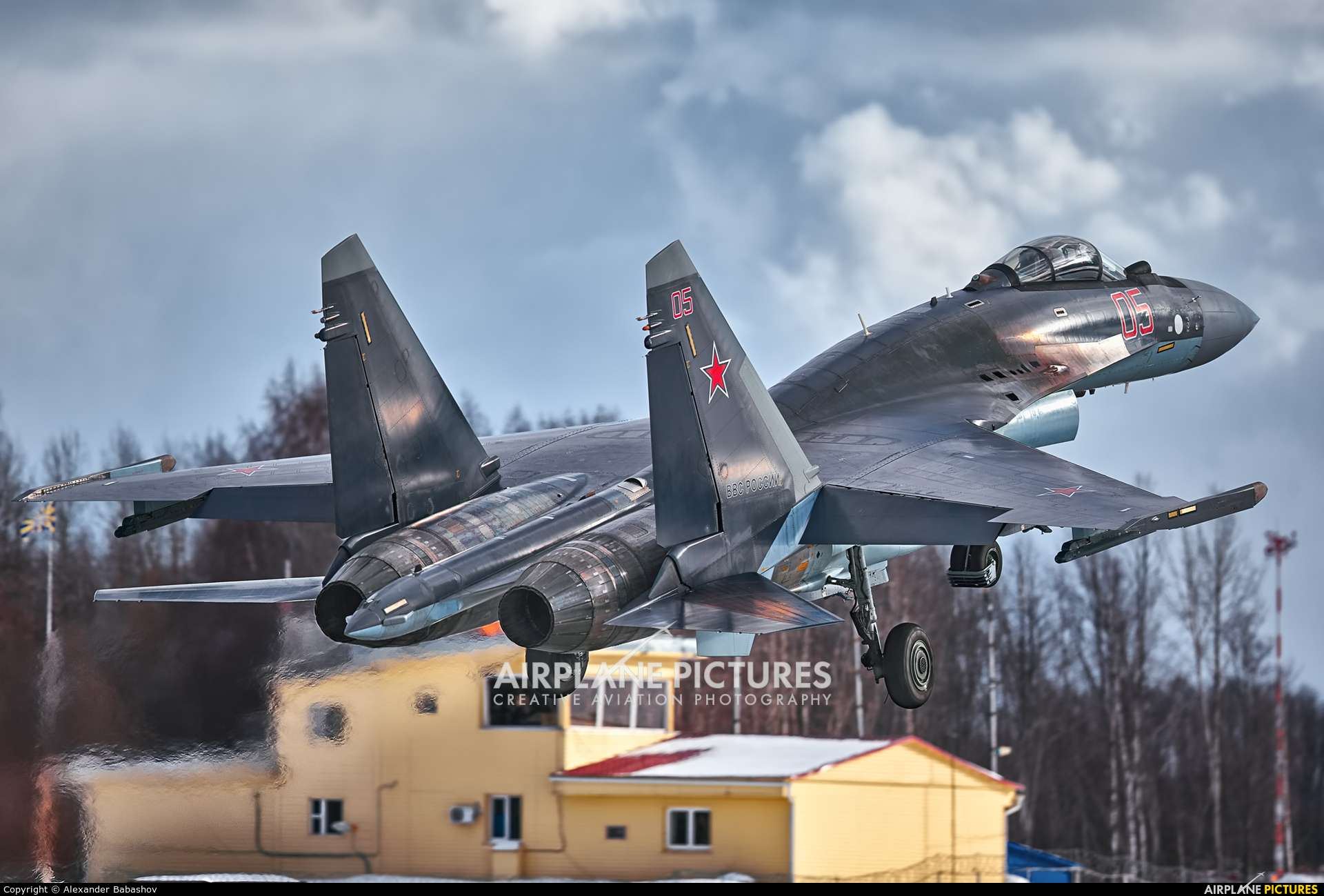Russia - Air Force 05 aircraft at Undisclosed Location