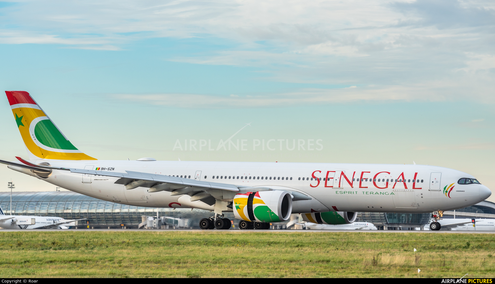 Air Senegal International 9H-SZN aircraft at Paris - Charles de Gaulle