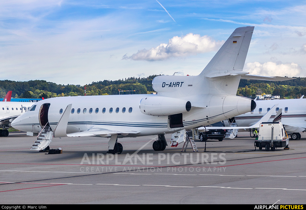 Heron Aviation D-AHRT aircraft at Zurich