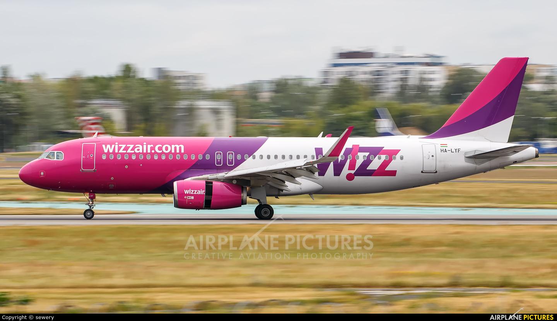 Wizz Air HA-LYF aircraft at Warsaw - Frederic Chopin