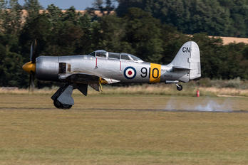 WG655 - Royal Navy Hawker Sea Fury T.20