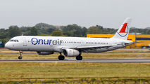 LY-NVQ - Onur Air Airbus A321 aircraft