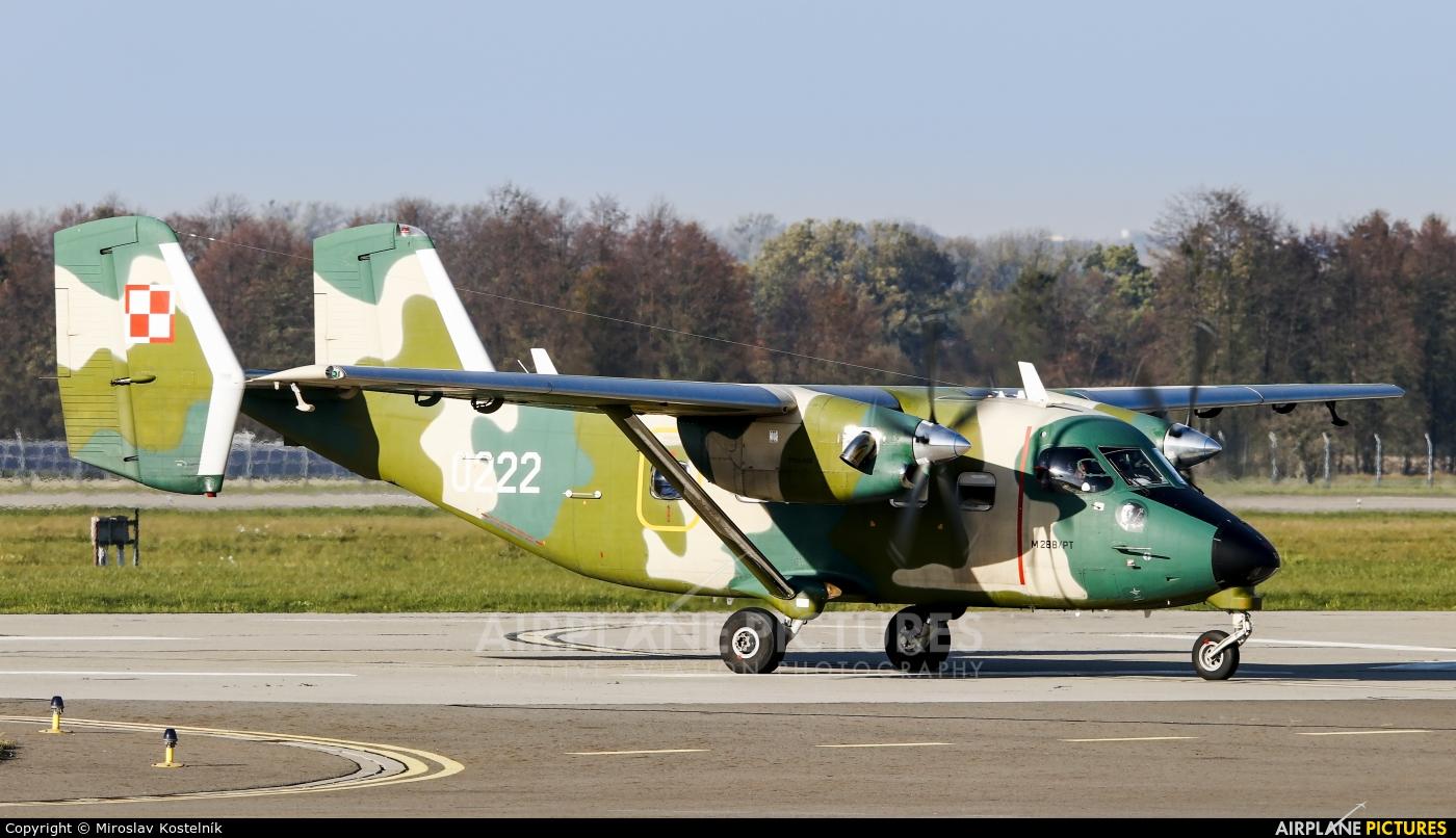 Poland - Air Force 0222 aircraft at Ostrava Mošnov