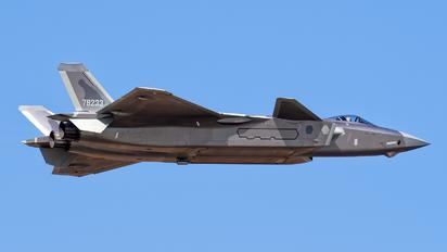 78233 - China - Air Force Chengdu J-20