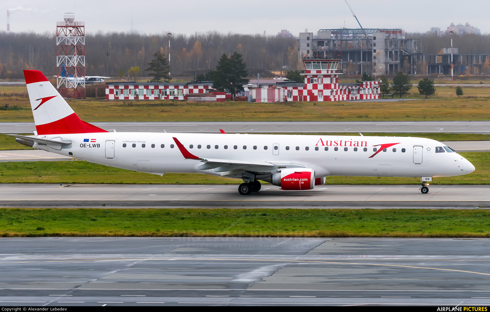 Austrian Airlines/Arrows/Tyrolean OE-LWB aircraft at St. Petersburg - Pulkovo