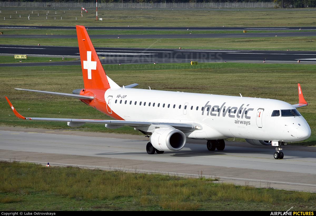 Helvetic Airways HB-JVP aircraft at Berlin - Tegel