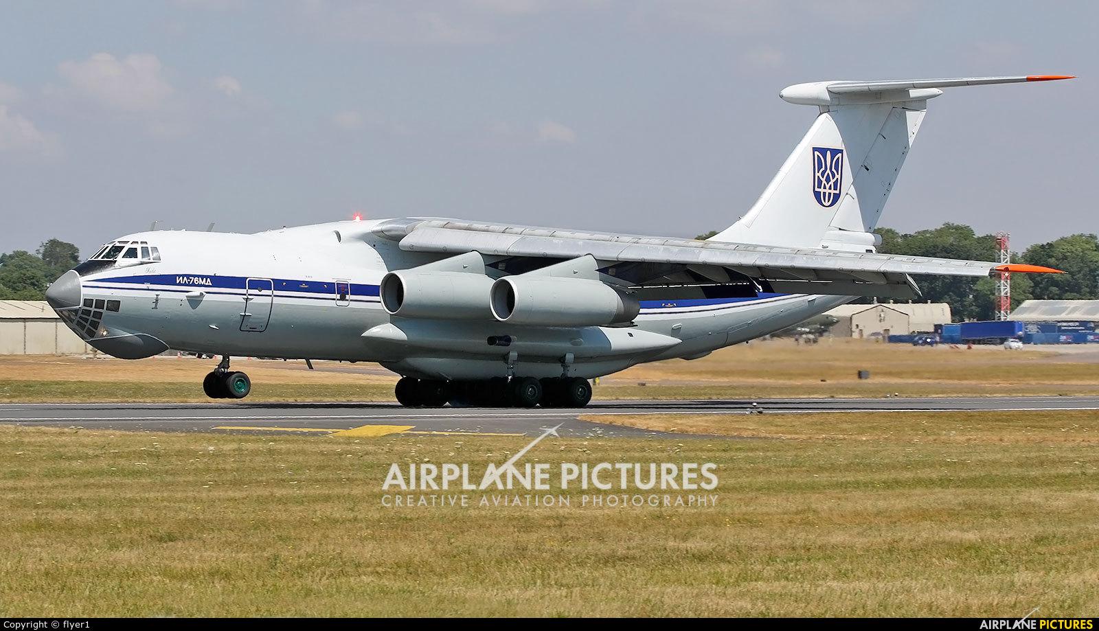 Ukraine - Air Force 78820 aircraft at Fairford