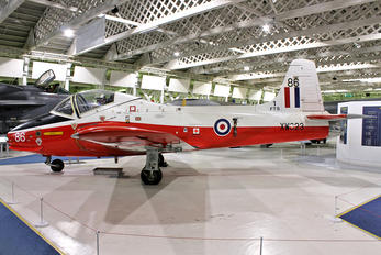 XW323 - Royal Air Force BAC Jet Provost T.5A