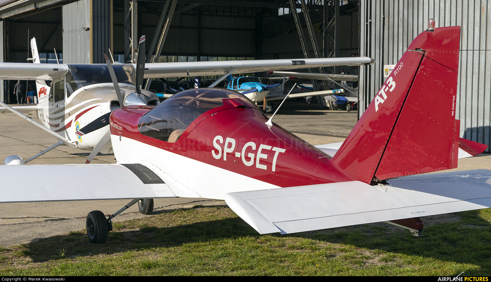 Private SP-GET aircraft at Warsaw - Babice