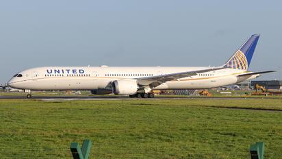 N16009 - United Airlines Boeing 787-10 Dreamliner