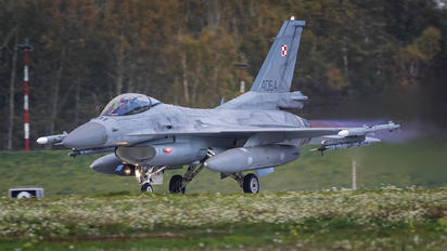 4064 - Poland - Air Force Lockheed Martin F-16C block 52+ Jastrząb