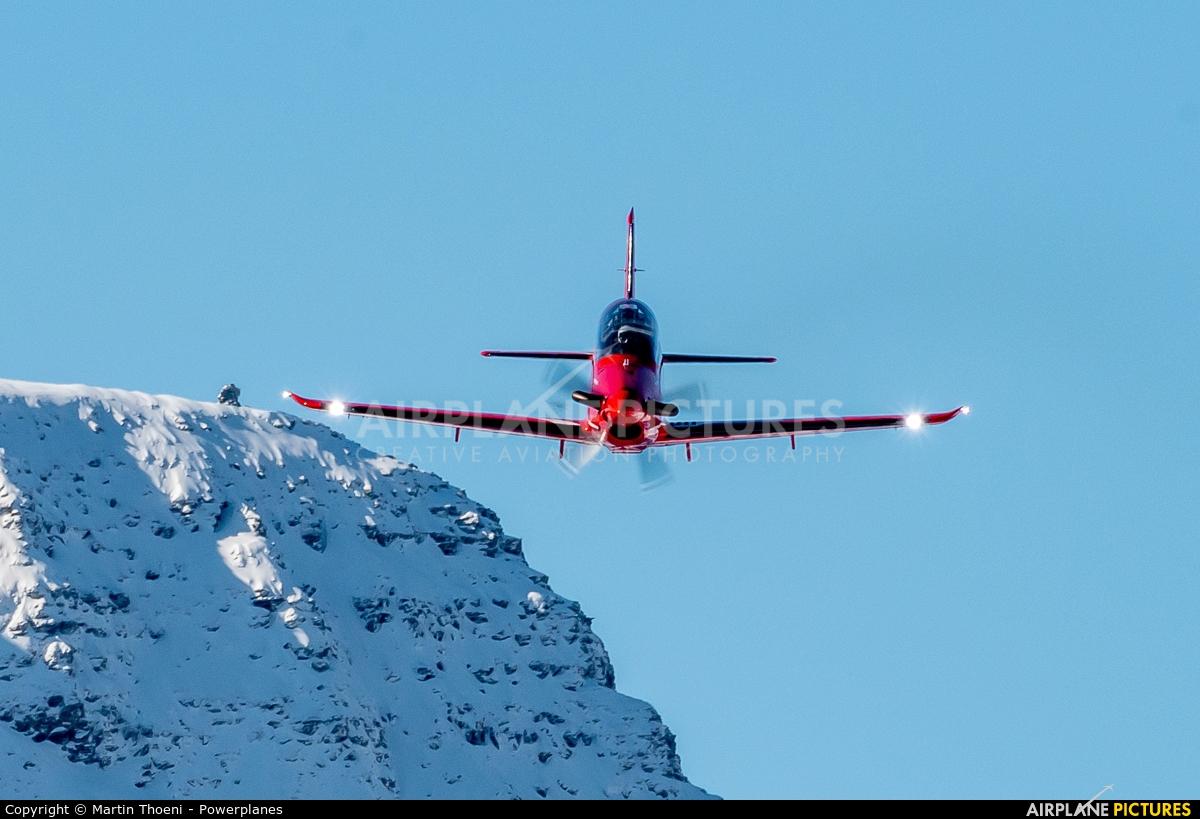 Switzerland - Air Force A-102 aircraft at Axalp - Ebenfluh Range