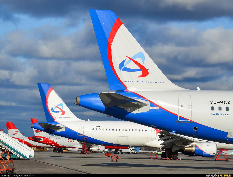 Ural Airlines VQ-BGX aircraft at Moscow - Domodedovo