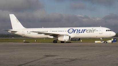 LY-NVU - Onur Air Airbus A321