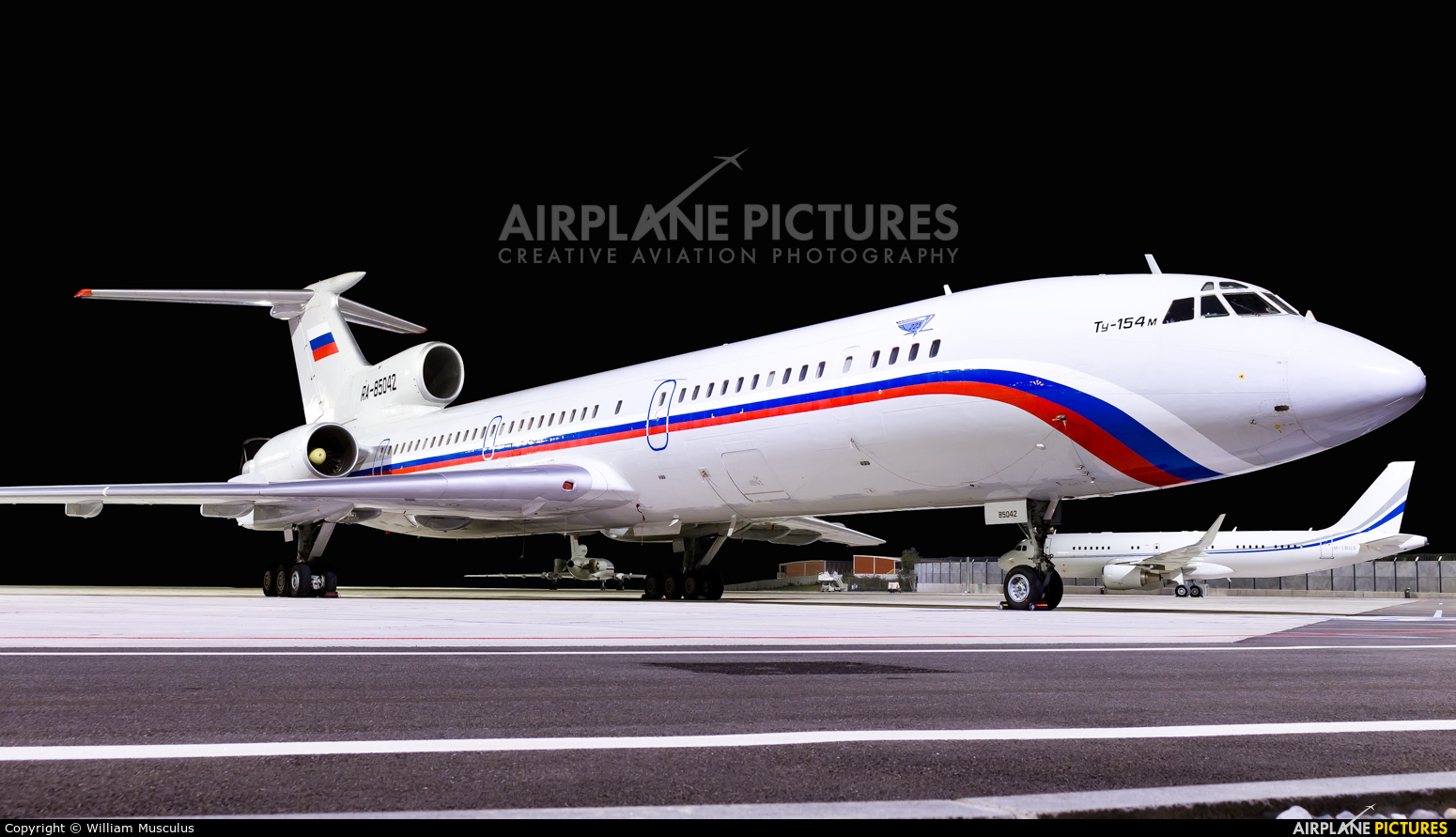 Russia - Air Force RA-85042 aircraft at Geneva Intl