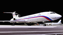 Russian Air Force Tu-154M visited Geneva title=