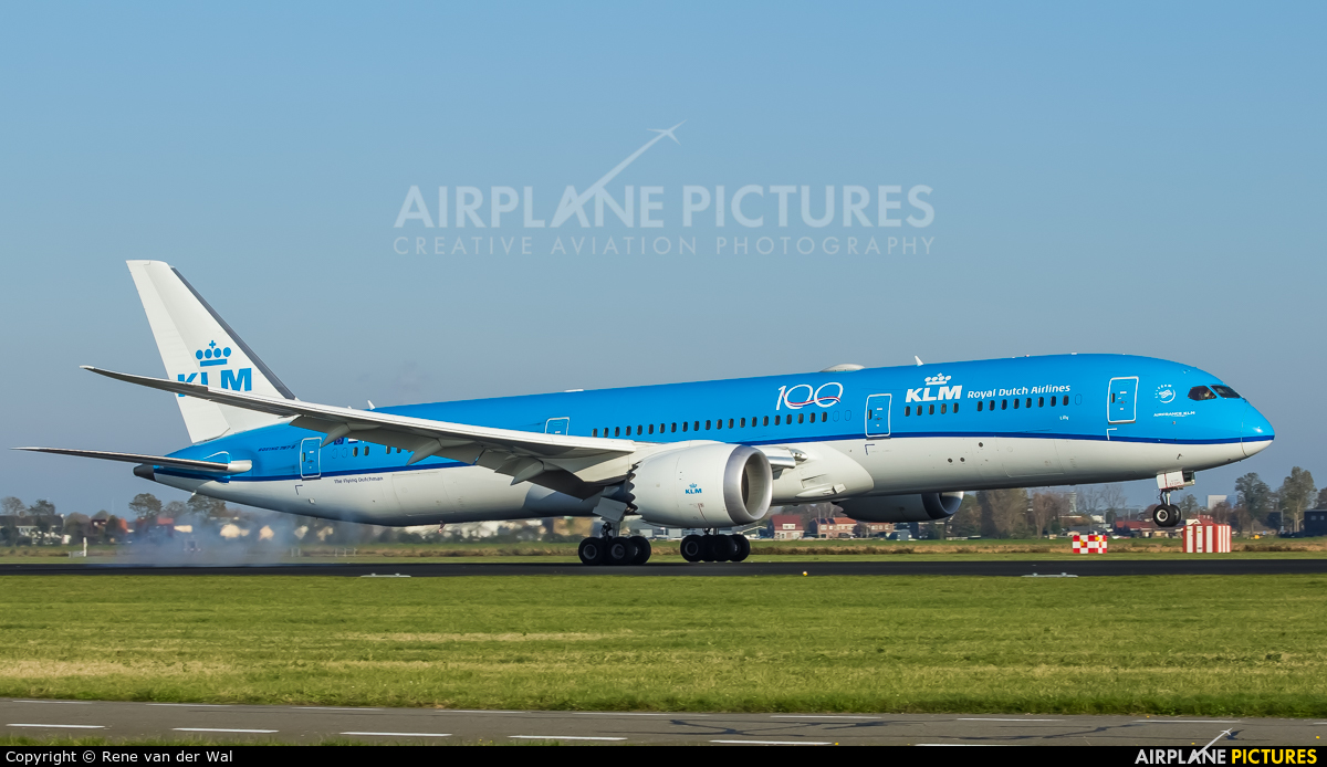 KLM PH-BHL aircraft at Amsterdam - Schiphol