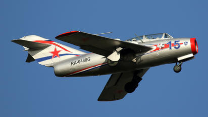 RA-0488G - Private Mikoyan-Gurevich MiG-15 UTI