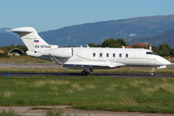 RA-67243 - Private Bombardier BD-100 Challenger 300 series