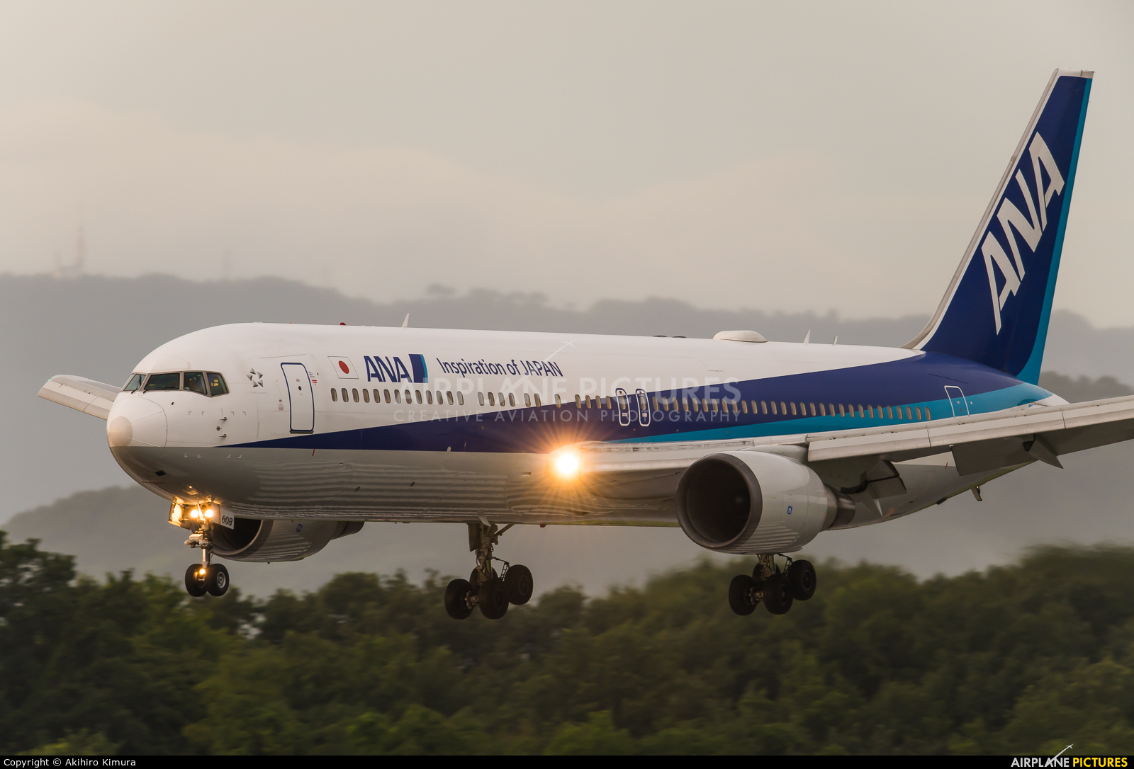 ANA - All Nippon Airways JA608A aircraft at Off Airport - Japan