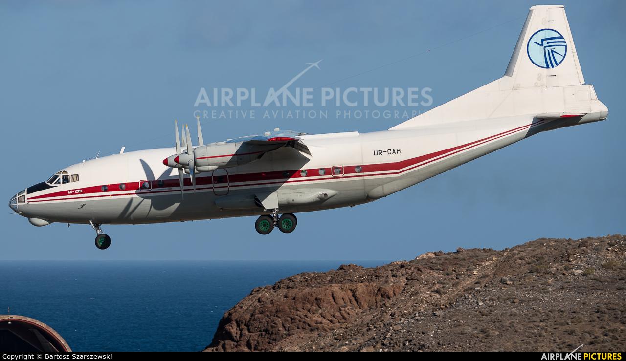 Ukraine Air Alliance UR-CAH aircraft at Las Palmas de Gran Canaria