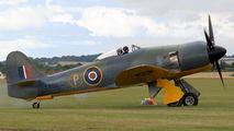 G-CBEL - Private Hawker Sea Fury aircraft