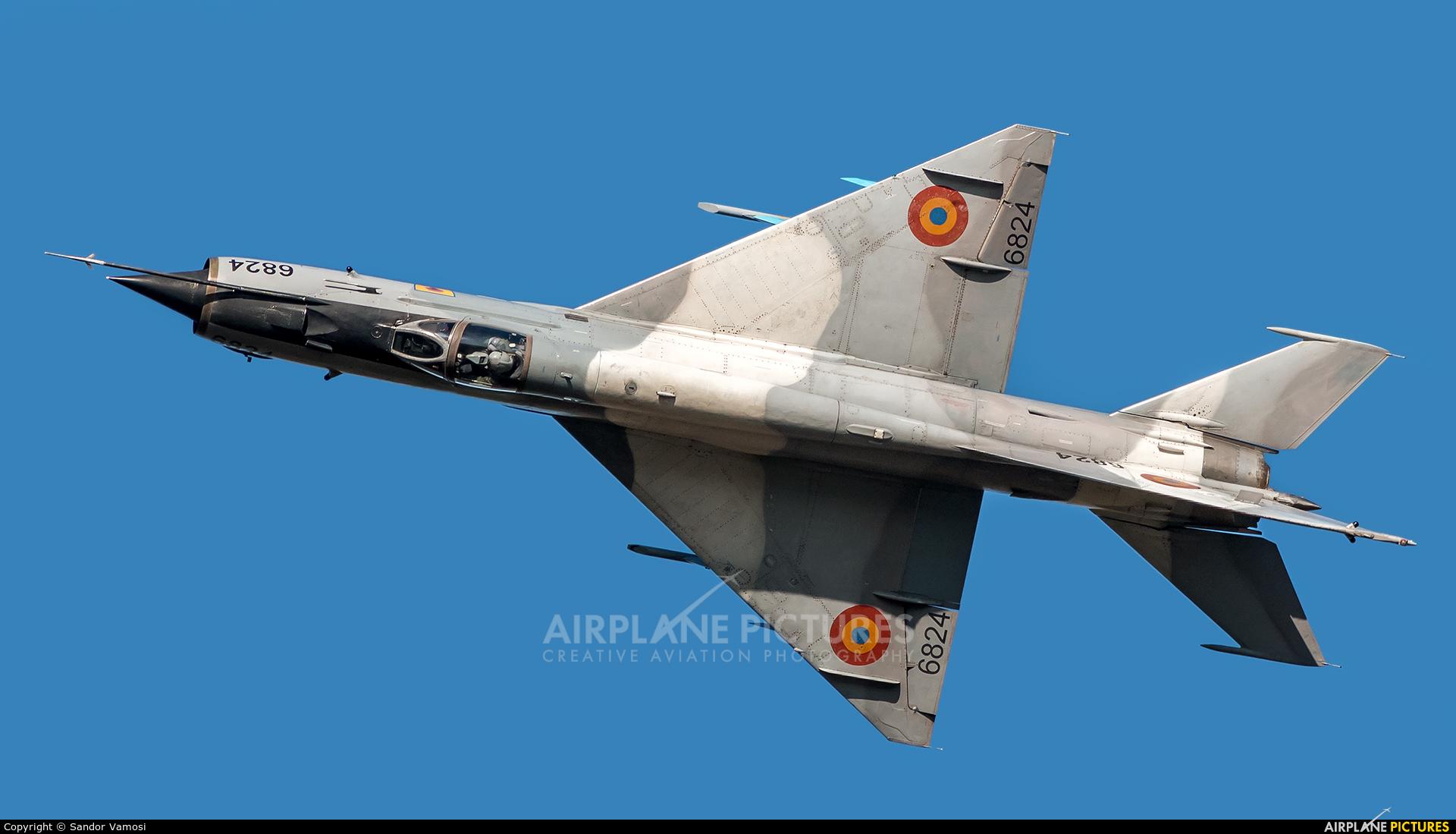 Romania - Air Force 6824 aircraft at Ostrava Mošnov