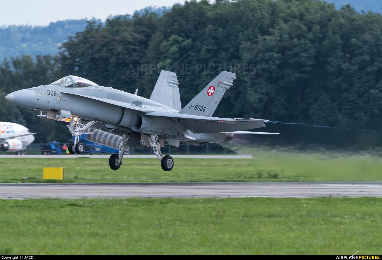 Switzerland - Air Force J-5006 aircraft at Ostrava Mošnov