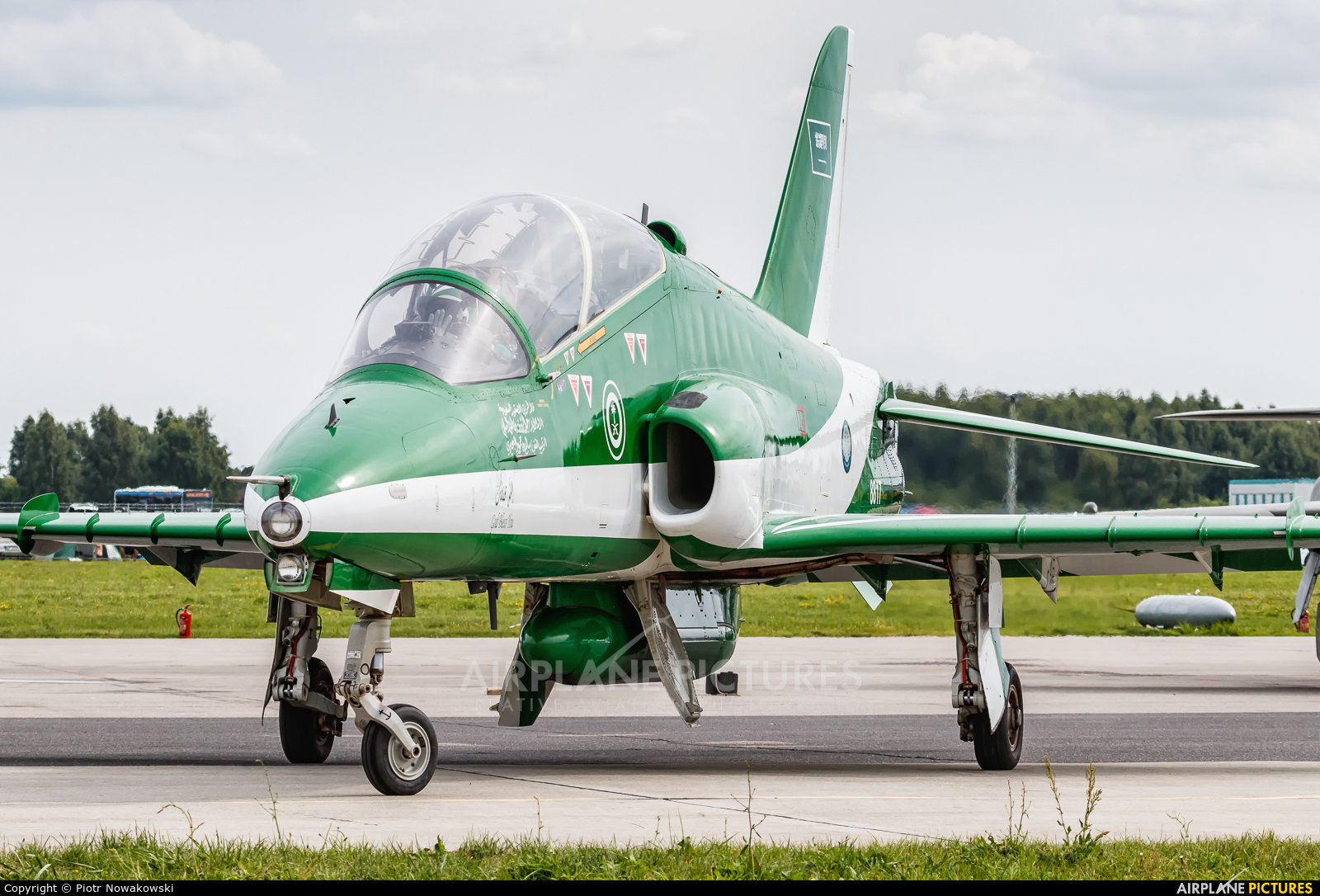 Saudi Arabia - Air Force: Saudi Hawks 8817 aircraft at Gdynia- Babie Doły (Oksywie)