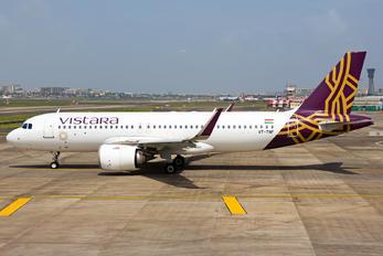 VT-TNF - Vistara Airbus A320 NEO