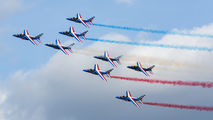 "- - France - Air Force ""Patrouille de France"" Dassault - Dornier Alpha Jet E aircraft"