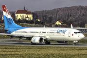 LX-LGU - Luxair Boeing 737-800 aircraft