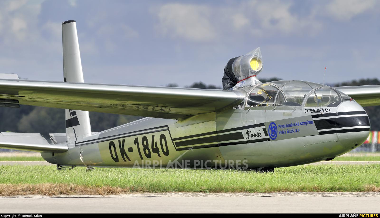 Private OK-1840 aircraft at Ostrava Mošnov