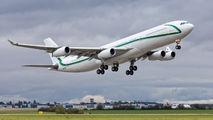 AIR X Charter Airbus A340 visited Prague title=